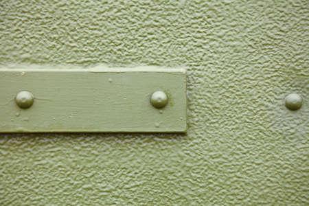 old metal background texture pattern door screw Stock Photo - 13544132