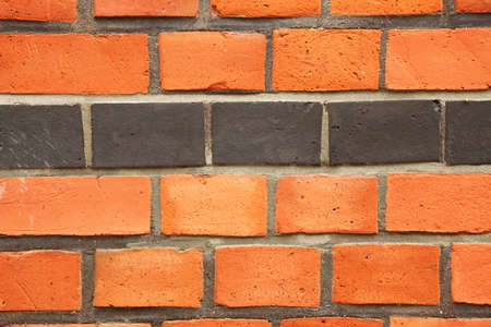 red black texture outdoor Brick Background photo
