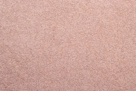 chamois leather: Macro bright beige suede soft leather as texture background Stock Photo