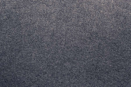 napped: Closeup dark grey suede soft leather as texture background