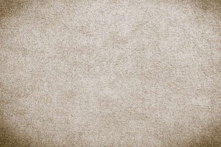 chamois leather: Macro brown suede soft leather as texture background Stock Photo
