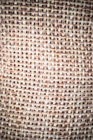 sack cloth: Brown burlap mesh, natural sack cloth background. Stock Photo