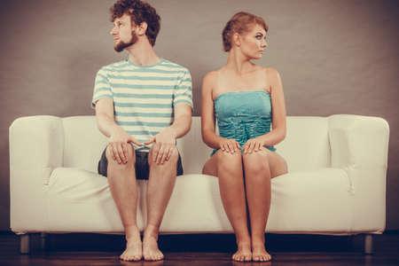 Bad relationship 写真素材