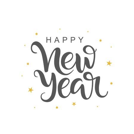 Happy New Year Font 80