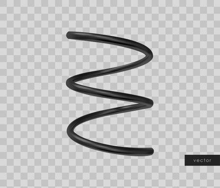 3d realistic geometric object. Isolated metallic gold shape. Vector. Illusztráció