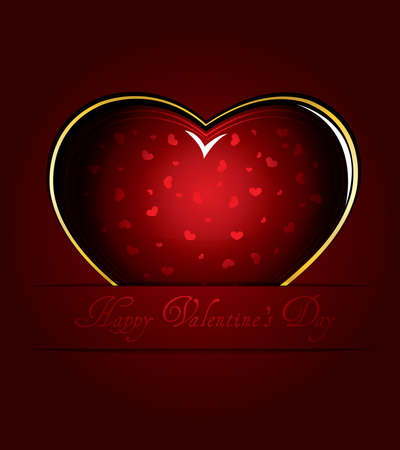 Valentines day card Stock Vector - 12151214
