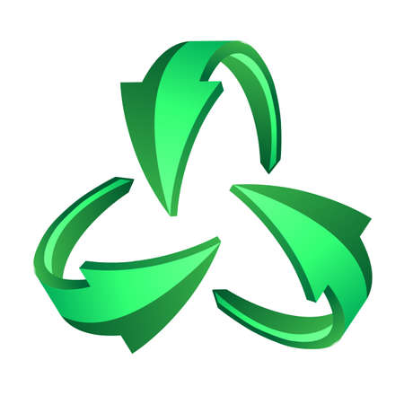 recycle sign: Recycle arrows, recycle symbol