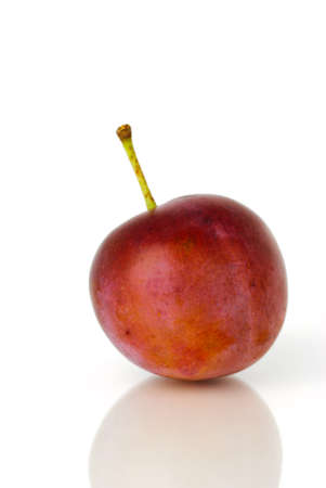 gage: Gage plum before white background