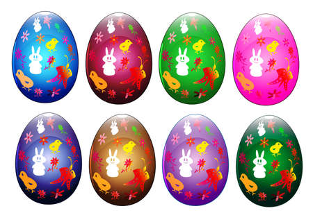 Easter eggs Stock Vector - 12924351