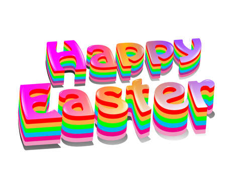 Easter type text
