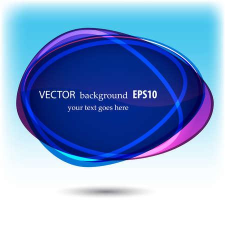 Abstract speech bubble Stock Vector - 13896037