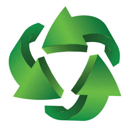 Recycle arrows  Recycle symbol  Stock Vector - 15538381