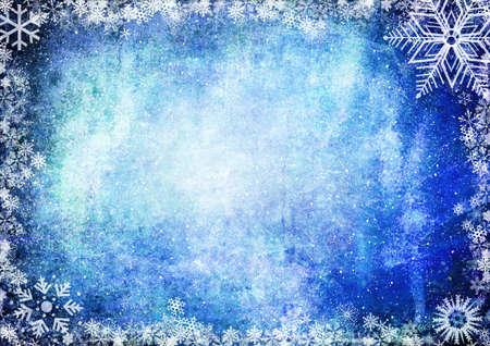 iceflower: Blue Christmas grunge texture di sfondo Archivio Fotografico