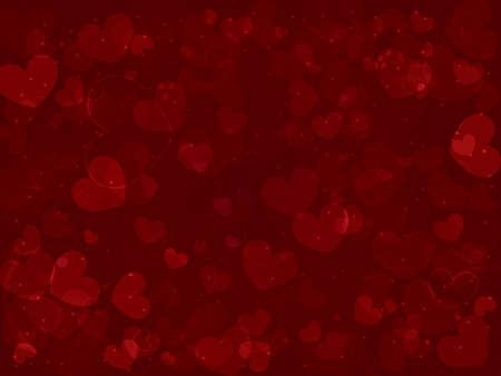 Hintergrund von Herzen