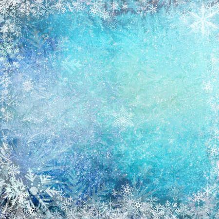 Blue Christmas grunge texture background  photo