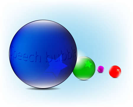Colorful speech bubbles Stock Vector - 16444400