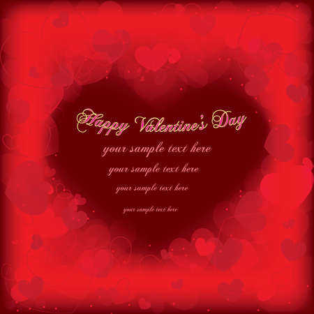 Valentines day card Stock Vector - 17160229