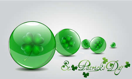 St Patricks day card Stock Vector - 17638366