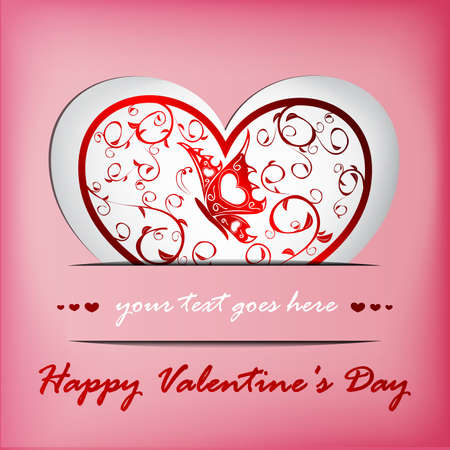 Valentines day card Stock Vector - 17571701