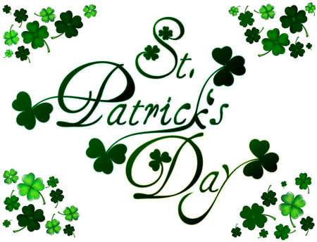 St Patricks day card or background Vector