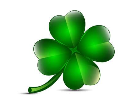 four leaf clovers: Four leaf clover