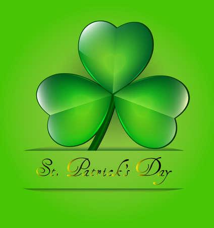 St Patricks day card Stock Vector - 17969736