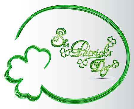 St Patricks day card Stock Vector - 17968163