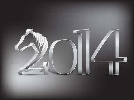 year        s: Scheda di nuovo anno s 2014 - Anno del cavallo