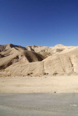 judean hills: Sand dunes in the Judean Desert in Israel