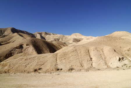judean desert: Sand dunes in the Judean Desert in Israel