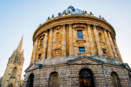 oxford: Radcliffe Camera; one of the iconic buildings in Oxford