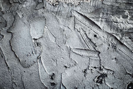 dabs: Texture of a concrete wall with dabs of cement and hard putty.