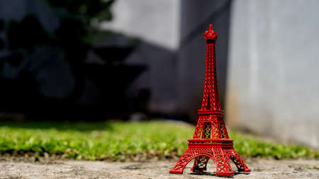 the humanities landscape: The red eiffel