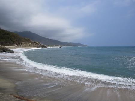 valentine s day beach: Tayrona tide