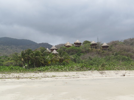valentine s day beach: hut tayrona