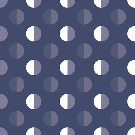blue grey dot polka seamless navy background design