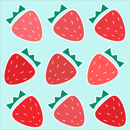 Cute Repeating Strawberry Pattern. Strawberry Pattern Strawberry Background