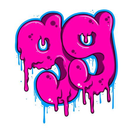 ninety: Ninety nine graffiti