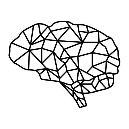 crack: crack brain Illustration