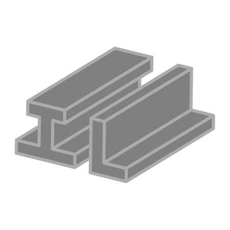 rejas de hierro: Iron bars icon.