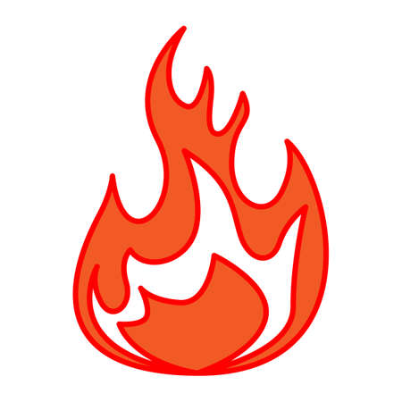 fire: Fire icon Illustration