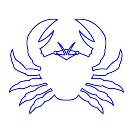Horoscope simple icon set