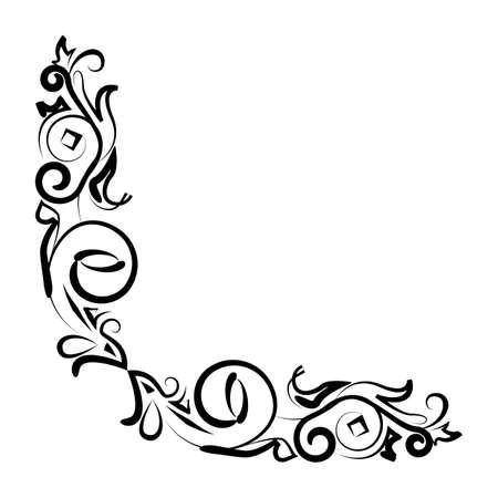 simple border: simple thin line artistic border icon