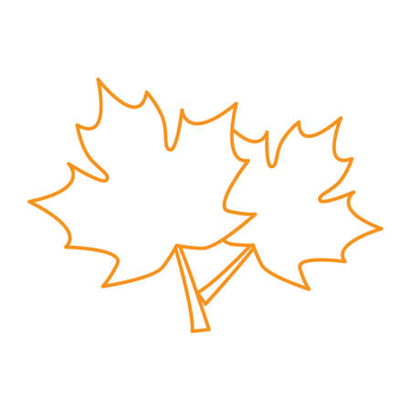 season: Autumn season icon set