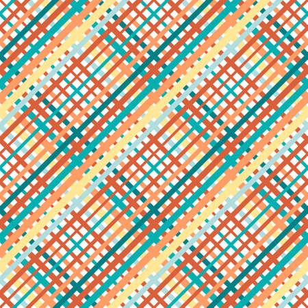 cotton wool: Geometrical simple square pattern Illustration