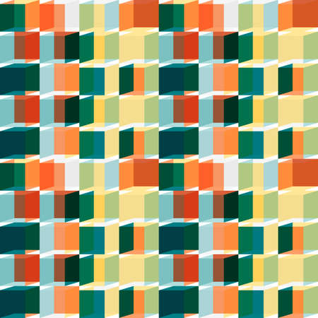 retro: Retro abstract seamless pattern