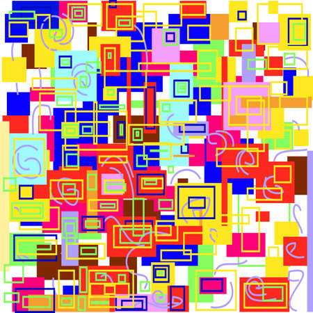 motley: abstract motley multicolored geometric pattern