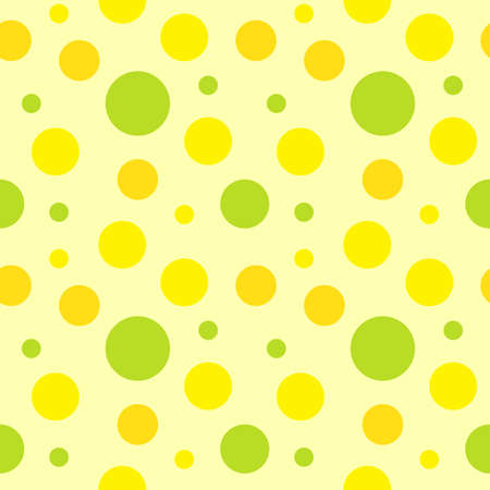 polka dot fabric: Seamless pattern, polka dot fabric, wallpaper, vector. Illustration