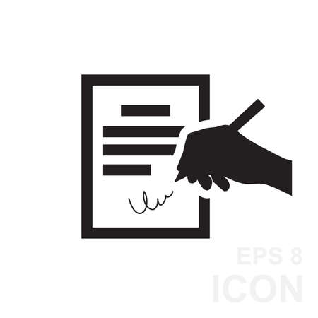 The Contract Icon Agreement And Signature Pact Accord Convention