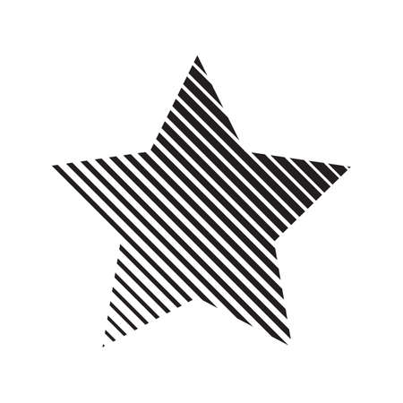backdrop: Abstract striped star backdrop